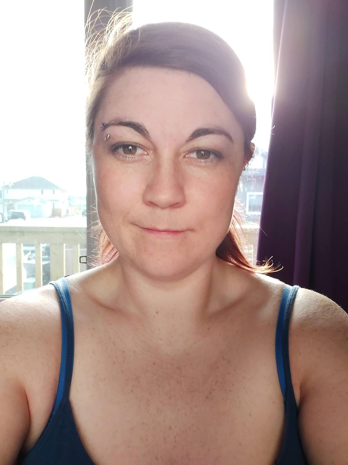 Saskatoon Photographer Better Selfies Light Tutorial Backlighting Aluminum Foil