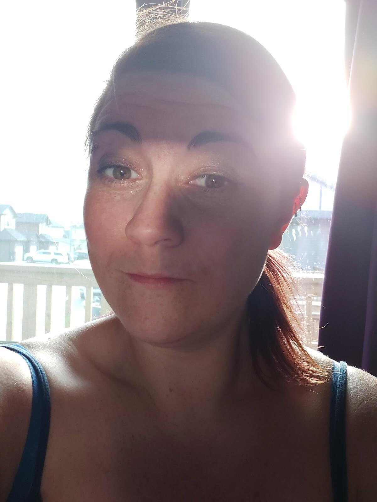 Saskatoon Photographer Better Selfies Light Tutorial Backlighting Mirror