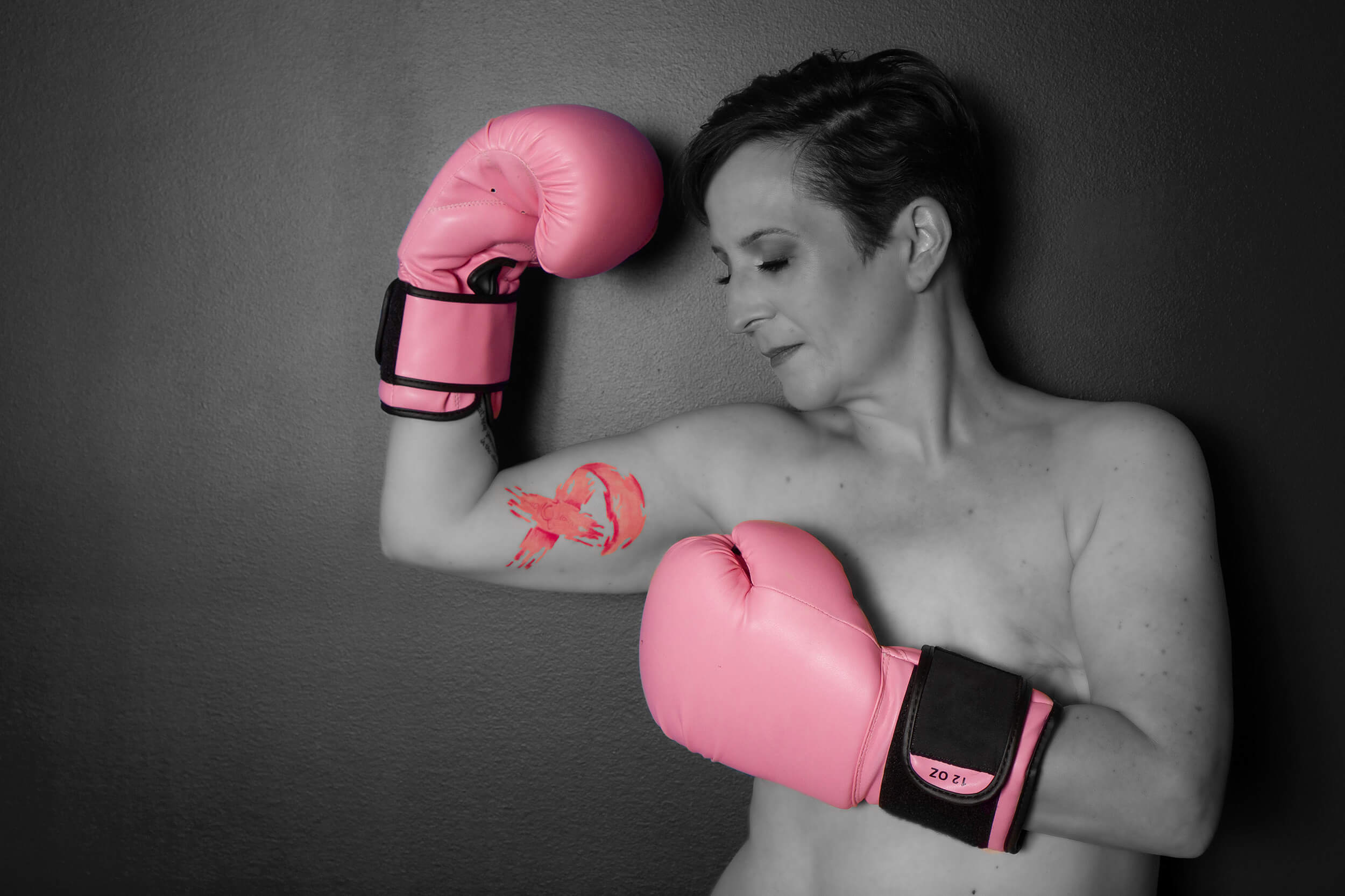 Saskatoon boudoir breast cancer survivor photographer